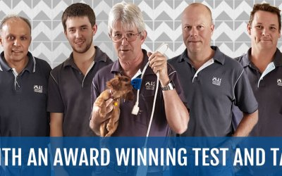 Award Winning Test and Tag Services