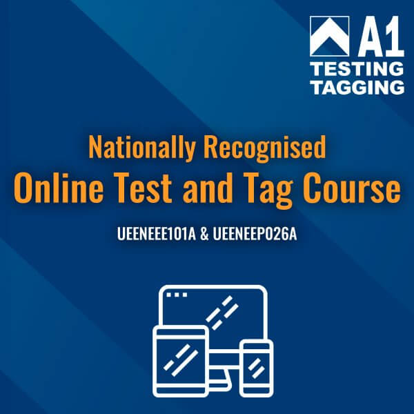 online test and tag course
